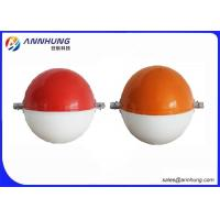 Quality Aviation Obstruction Sphere Alerting Aircraft Warning Balls AH-AWS Red Emitting Color for sale