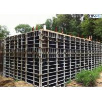 Quality Steel Concrete Wall Formwork With Adjustable Clamp for Straight Wall Construction for sale