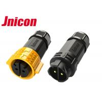 Quality 600V 20A Waterproof Male Female Connector , Industrial Power Connectors for sale