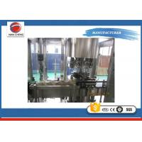 Buy Automatic Glass Bottle Filling Machine Stainless Steel Large Capacity Adjustable at wholesale prices