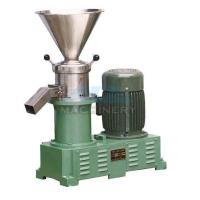 Quality Sanitary food grinding machine stainless steel colloid mill peanut butter sesame paste colloid mill for sale