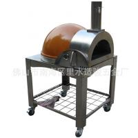 China Cooking Tools Big Discount Stainless Steel Wood Fired Used Bakery Equipment Pizza Oven Orange on sale