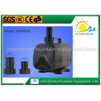 Quality Circulation Centrifugal Water Fountain Submersible Pump For Rockery 4500 L / H for sale