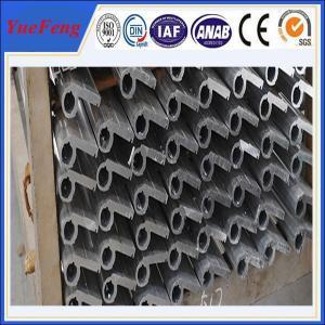 Quality Anodized aluminium square pipe fittings for hinge,aluminium heavy duty door hinge for sale
