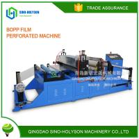 SINO-HS NEW CONDITION HIGH PERFORMANCE BOPP FILM  PERFORATED MACHINE