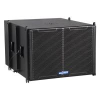 Quality double 12 inch active pro two way line array speaker system LA22BE(active) for sale