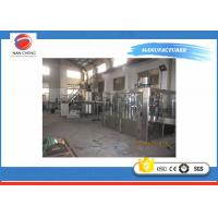Quality 3000bph Water Bottle Packaging Machine , Customized Soda Beverage Filling Line 4KW for sale