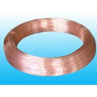 Steel Strip Copper Coated Bundy Tube For Evaporator 8mmmm X 0.7mm for sale