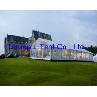 Outdoor clear roof transparent marquee luxury party tent for wedding events for sale