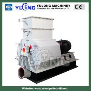 Dual-rotor wood hammer crusher/hammer mill