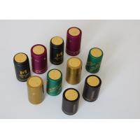 Quality Olive Oil Glass Heat Shrink Bottle Caps Gold Plating With Shrink Sleeve for sale