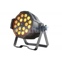 Quality 18 Pcs 15W 5 - In - 1 LED Stage Spotlights /  LED Par Light 2 Years Warranty for sale