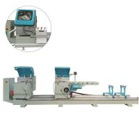 China 4.4Kw Door Aluminum Window Machine Double Head High Precision Cutting on sale
