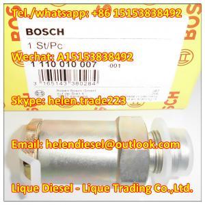 Quality 100% original BOSCH Pressure Limiting Valve 1110010007 , 1 110 010 007 ,3963808, 3947799,51103040050,87347275,2T2201146 for sale