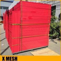 Buy cheap 6ft x 10ft used construction site canada temporary fence panels from wholesalers