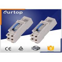 Quality Din Rail Mechanical Timer Switch , 24 Hour Programmable Digital Timer Switch for sale