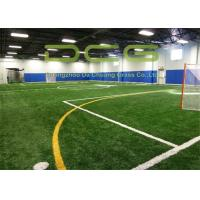 Quality PE 50mm Artificial Grass For Football Field With PP + Net + SBR Latex Backing for sale