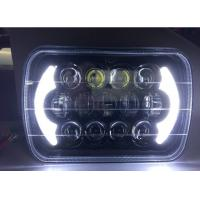 Buy Jeep Wrangler Car Light Bar 85w Cree 7 Inch Black Projector LED Headlights With DRL at wholesale prices