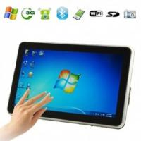 Quality T11 10.1 inch 3G Phone Tablet PC with Windows 7 Capacitive Screen & Camera (1.3MP webcam ) for sale