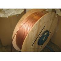Buy Custom Length Copper Coil Tubing / Pancake Coil Copper Pipe 0.1 - 200mm Wall Thickness at wholesale prices