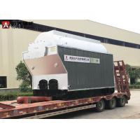 Travelling Chain Grate Steam Tube Boiler 4 Ton Wood Chips Boiler Steam Output for sale