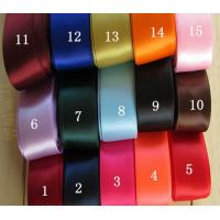 "1-1/2""(38mm) Solid Color Grosgrain Ribbon Packing 21yards color mix bow celebration decoration DIY Materials for sale"