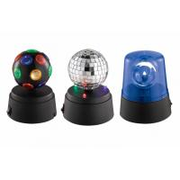 Buy Set Of 3 Mini LED Light Party Light One Mirror Disco Ball Beacon at wholesale prices