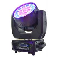 China Show Concert led moving head wash zoom light , 19x15W Mac Aura moving light on sale