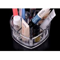 Quality 8 Compartments Clear Acrylic Display Stand Unique With Heart Shape for sale