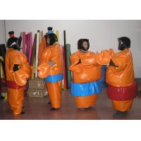 EN14960 Durable Kids Inflatable Sumo Wrestling Suits For Interactive Games