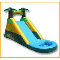 Buy 2016 Hot sell Tropical Themed Inflatable water slide with warranty 24months at wholesale prices