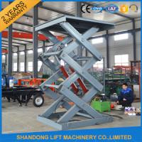 Buy cheap 2T 3M Hydraulic Warehouse Elevator Lift For Cargo Lifting with CE from wholesalers