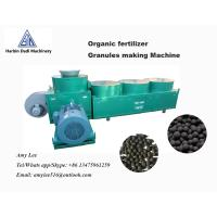Quality Ring die 3 Ton / hour  Ball shape organic fertilizer granules making machine for sale