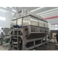 Carbon Steel Double Drum Hot Air Dryer Machine PLC Control Steam Thermal Oil Heating Medium for sale