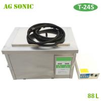 Buy Diesel Engine Parts Ultrasonic Cleaning Machine 88L with Basket and Casters at wholesale prices