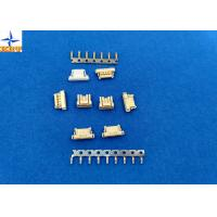 Quality Yellow PCB Connectors Wire To Board , 6 Pin Connector Single Row Housing for sale