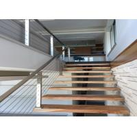 Quality Energy Conservation Stainless Steel Wire Fence , Stainless Stair Railing Corrosion Resistance for sale