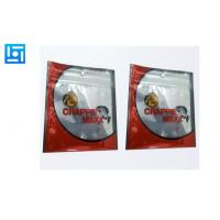 Buy Matte Plastic Fishing Lure Bags / Zippered Stand Up Pouches With Window at wholesale prices