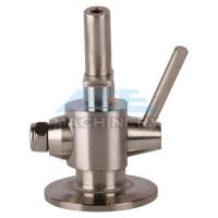 Buy Stainless Steel Material Aspetic Sample Valve SS316L Sanitary Sampling Cock at wholesale prices