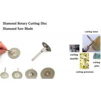 Diamond Rotary Cutting Disc For Cutting Gemstone Glass Stone Alisa@moresuperhard.com