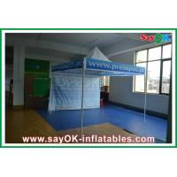 Quality Fire Resistance Folding Tent Aluminum / Iron Frame Oxford Cloth for sale