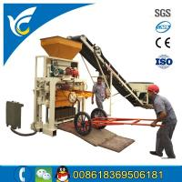 China Manual cement block making machine for sale on sale