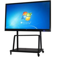 China LED Multi Media All In One PC Touch Screen Teaching Interactive LCD Board For Meeting Room on sale