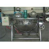 China Oil Jacketed Cooking Pots Large Electric Cooking Pot For Food Industry on sale