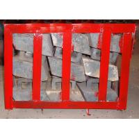 Buy Chromium Molybdenum Steel Concaves Of Ball Mill Lining Packed in Pallets at wholesale prices