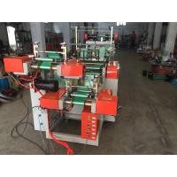 Quality Auto Roll Change Plastic Bag Making Machine Double Layer , High - Limit Stop for sale