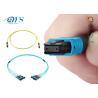 Factory price 8 12 24 fiber OM3 Plenum MPO/MTP Trunk Cable OM3 OM4 12Fiber 24 Fiber 100G for sale