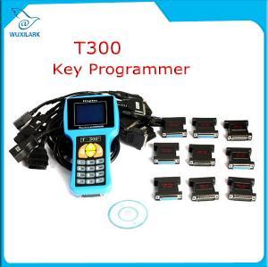 Quality T300 Key Programmer Newest V16.8 T 300 T-300 OBD2 Auto Key Transponder English Spanish Optional T300 T-code Key Maker for sale