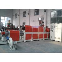 Quality Recycling Pelletizing Plastic Recycling Extruder , HDPE LDPE PP Plastic Film Granulator Machine for sale