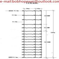 Buy cheap rural fencing price/ horse fening for sale/farm fencing for sale/no climb fence/ from wholesalers